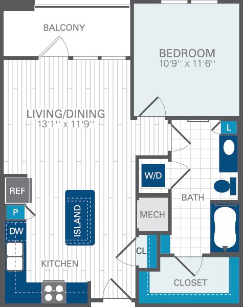 Azul baldwin park orlando regional center for for Baldwin floor plan