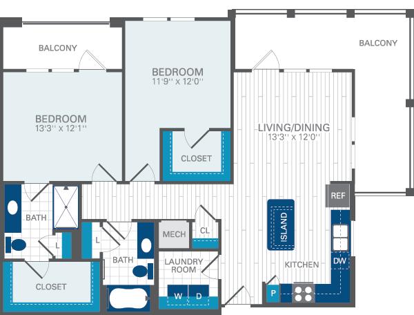 Azul baldwin park archiabyssniya for Baldwin floor plan
