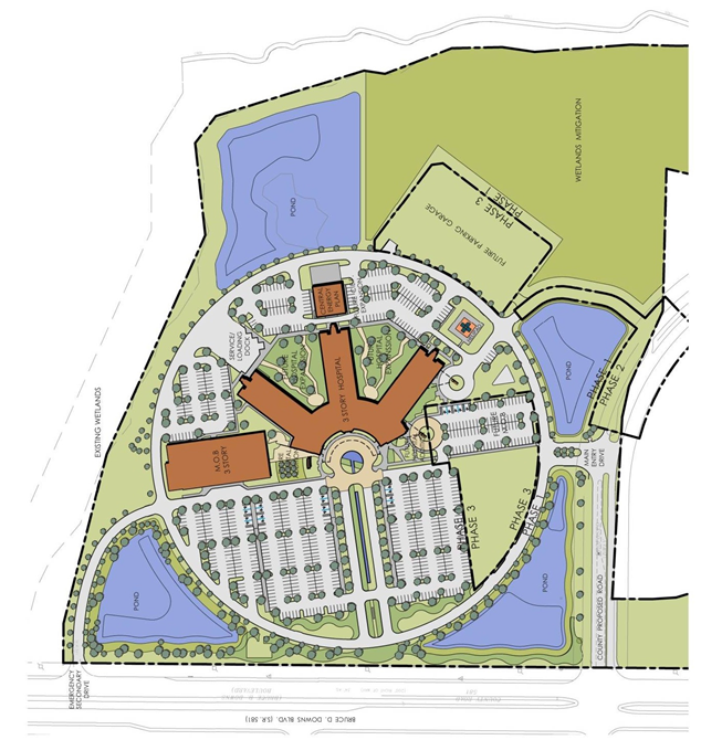 FH wesleychapel siteplan