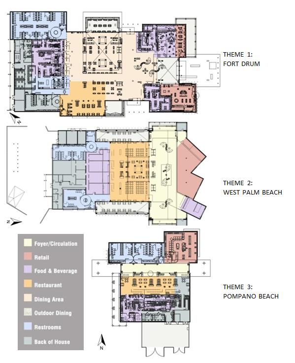 FL service plaza -plans