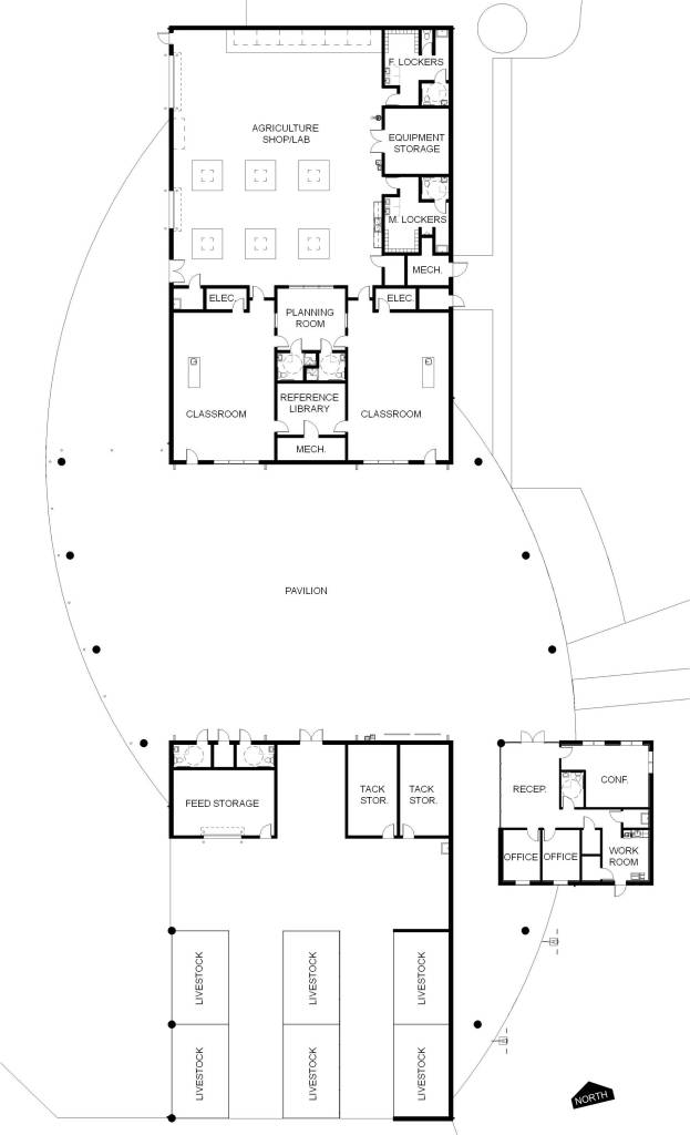warner floor plan