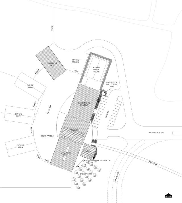 warner site plan