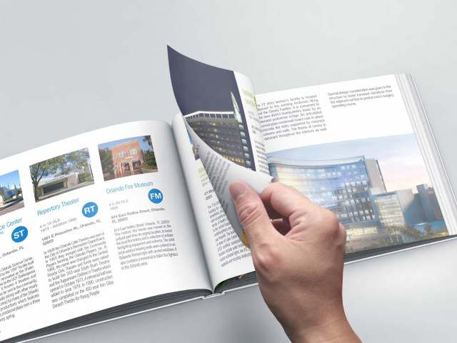 AIA Convention Guidebook 2017 Mockup sample page